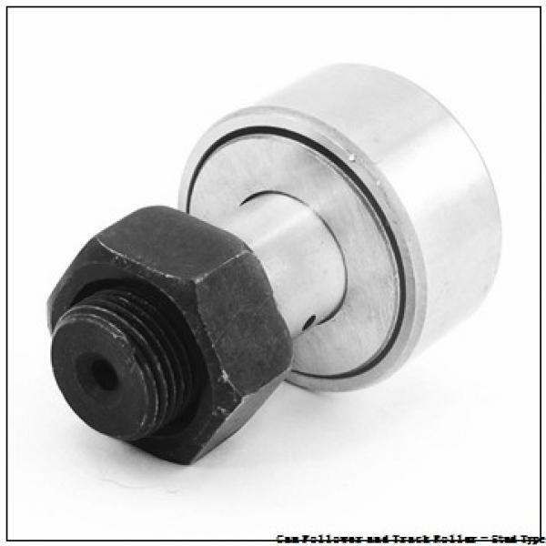 CONSOLIDATED BEARING CRSBC-12  Cam Follower and Track Roller - Stud Type #3 image