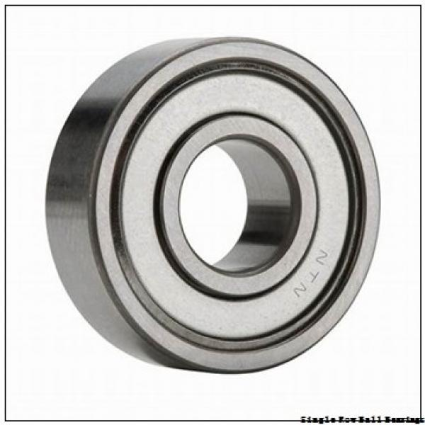 35 mm x 80 mm x 34,92 mm  TIMKEN W307PP  Single Row Ball Bearings #2 image